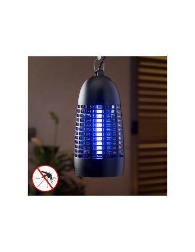 Lampe Anti-Moustiques KL-1600 4W Noire