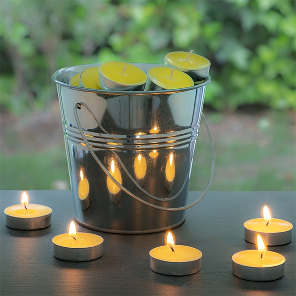 bougie répulsif à la citronnelle